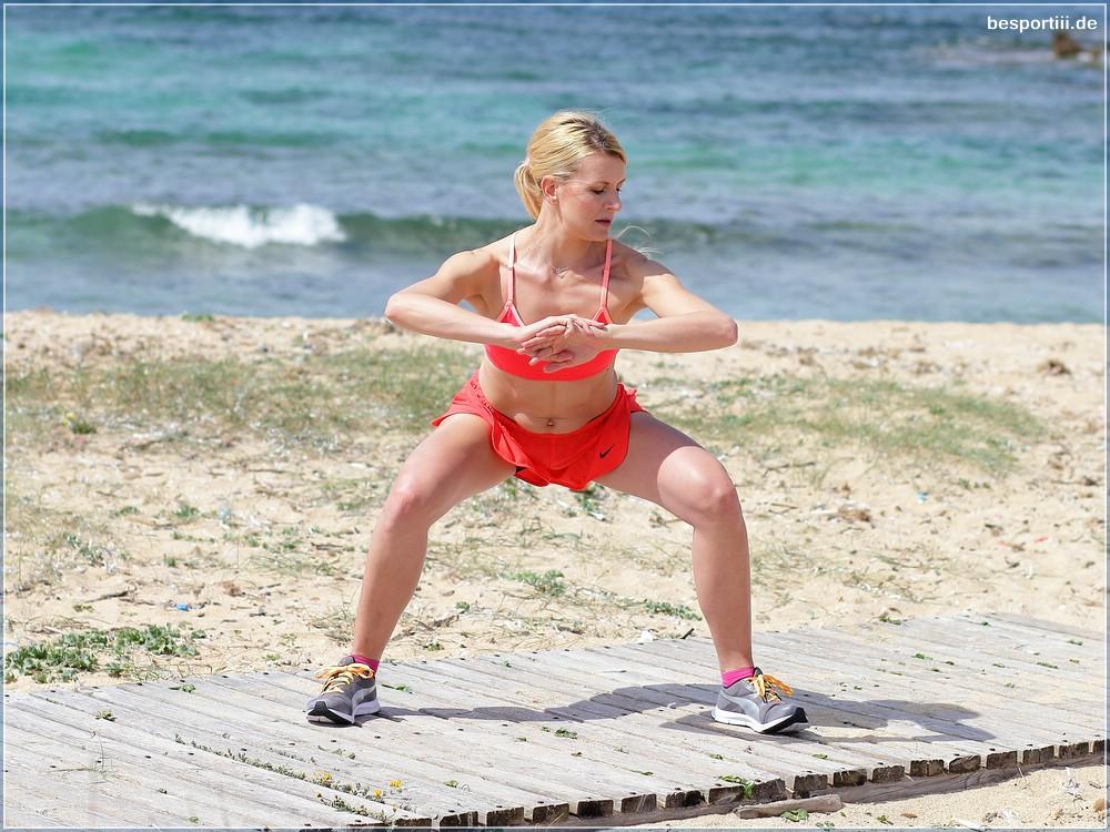 Weihnachten Fitness Workout