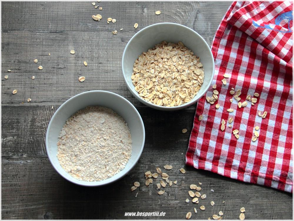 Haferflocken Mehl tutorial